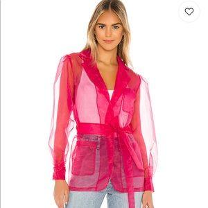 LOVERS + FRIENDS | Hot Pink Jacket